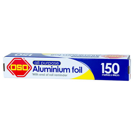 Oso® All Purpose Aluminium Foil 150m x 44cm