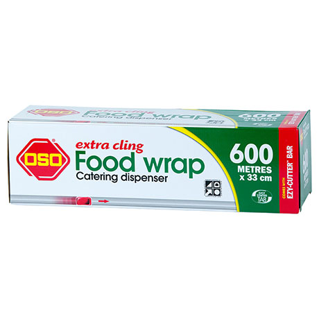 Oso® Extra Cling Food Wrap 600m x 33cm