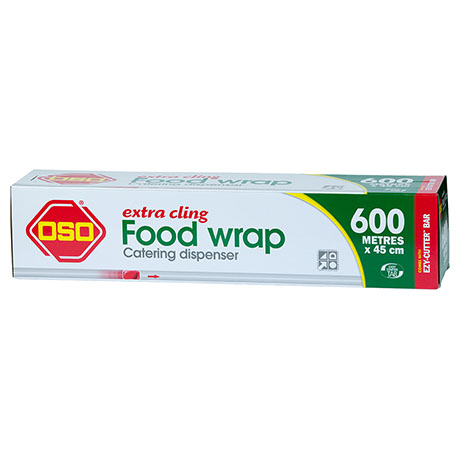 Oso® Extra Cling Food Wrap 600m x 45cm