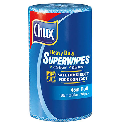 Chux® Superwipes® HD Roll Blue 45m
