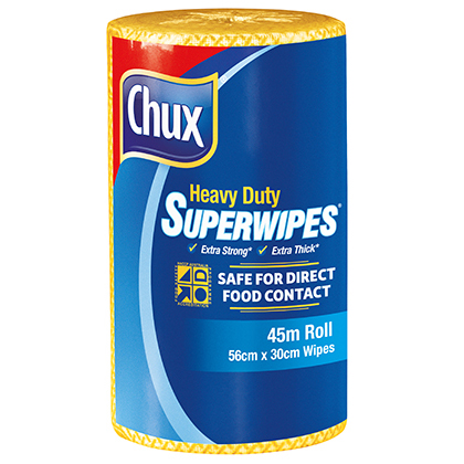 Chux® Superwipes® HD Roll Yellow 45m