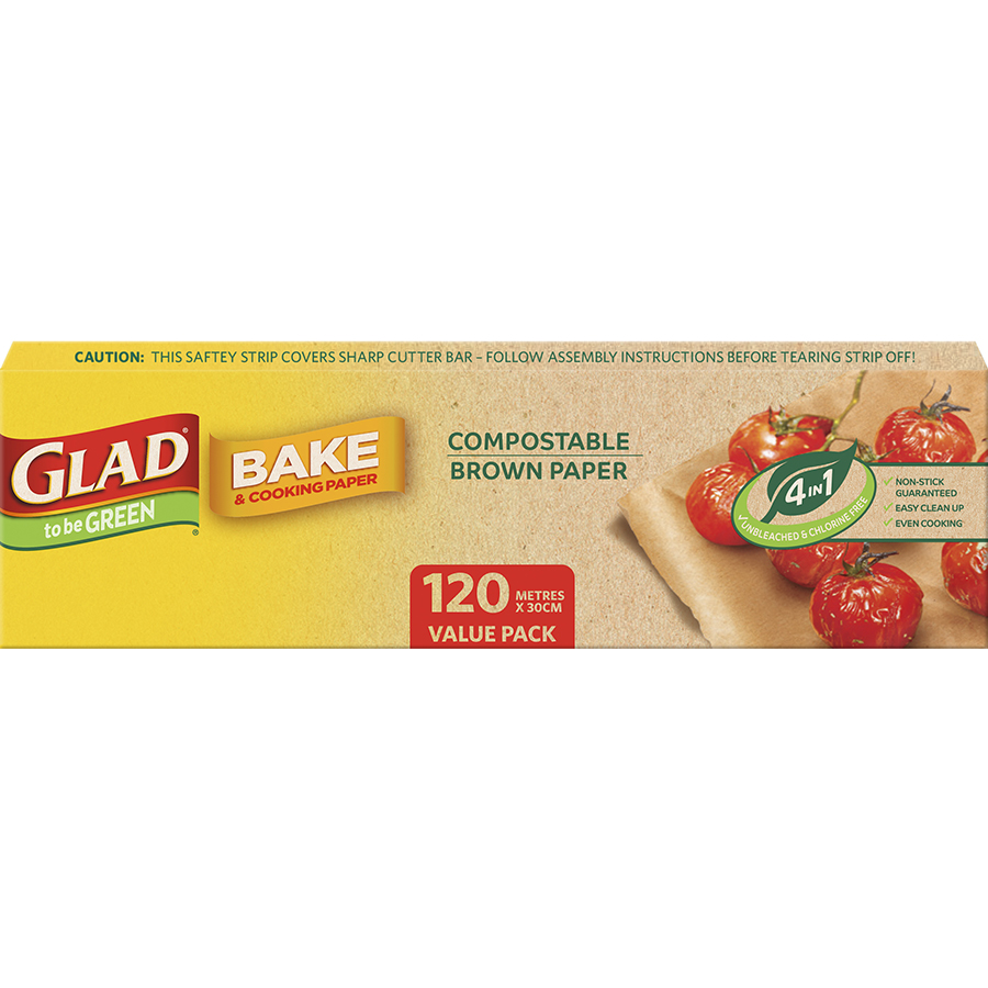 Glad to be Green® Compostable Bake Paper Roll 120m x 30cm